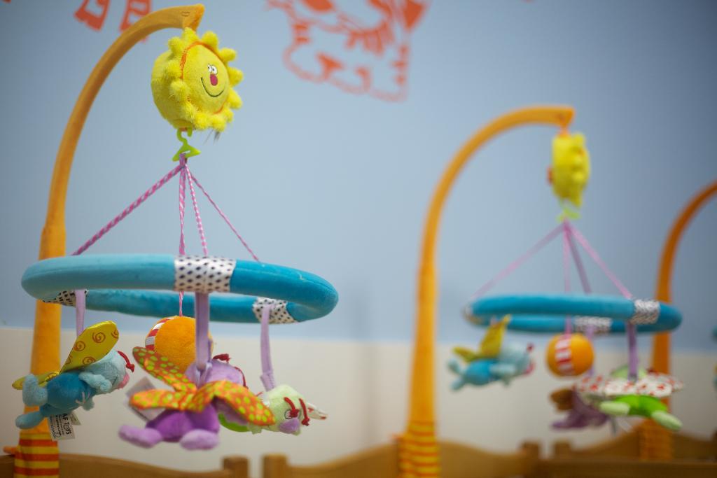 móviles para bebés guardería txanogorritxu mungia
