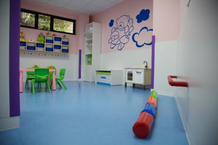 interior aula guardería txanogorritxu mungia