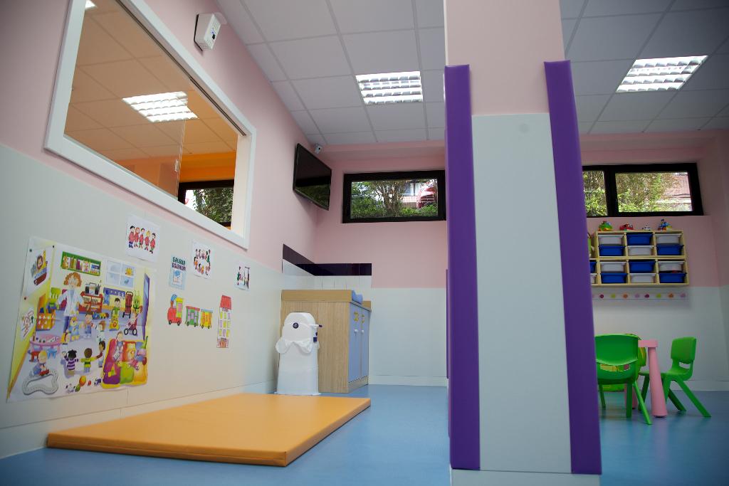interior guardería txanogorritxu mungia