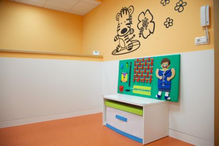 detalle decoración aula guardería txanogorritxu mungia