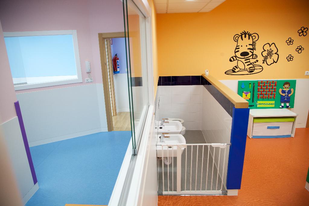 lavabos guardería txanogorritxu mungia