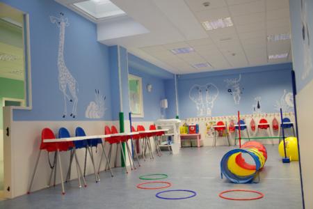 aula psicomotricidad guardería txanogorritxu las arenas