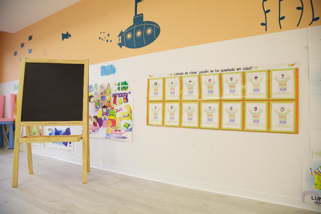 detalle interior aula guardería txanogorritxu barakaldo