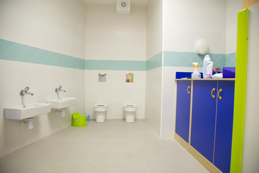 lavabos guardería txanogorritxu barakaldo