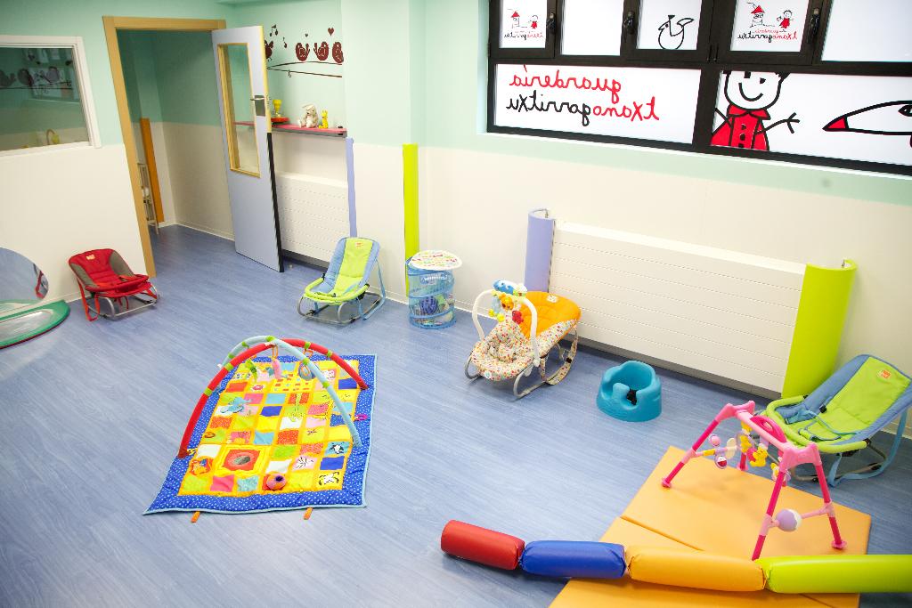 juguetes aula guardería txanogorritxu barakaldo