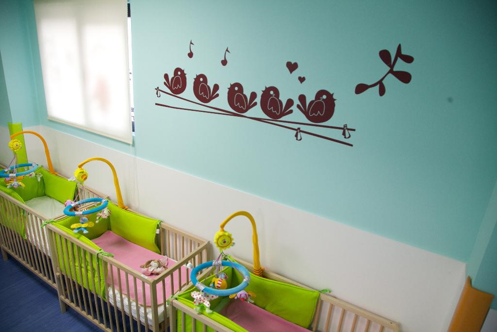 detalle decoración aula guardería txanogorritxu barakaldo