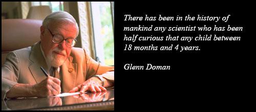 glenn doman method reading