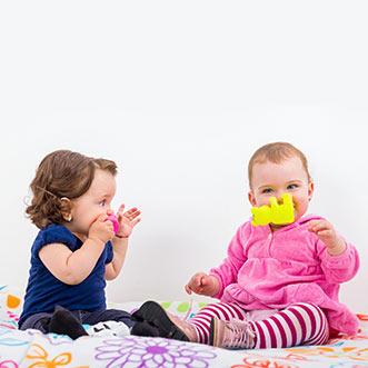 juego libre en bebés